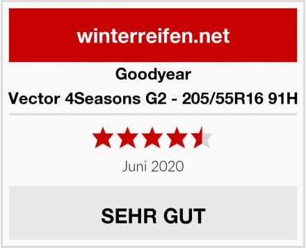 Goodyear Vector 4Seasons G2 - 205/55R16 91H Test