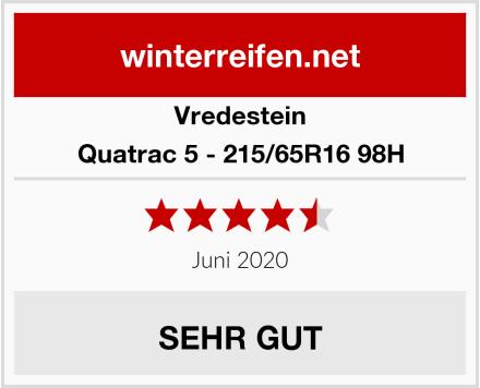 Vredestein Quatrac 5 - 215/65R16 98H Test