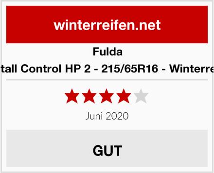 Fulda Kristall Control HP 2 - 215/65R16 - Winterreifen Test