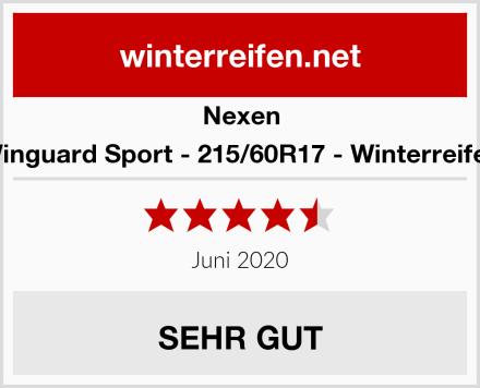 Nexen Winguard Sport - 215/60R17 - Winterreifen Test