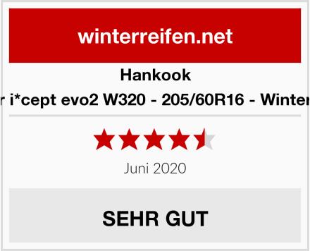 Hankook Winter i*cept evo2 W320 - 205/60R16 - Winterreifen Test