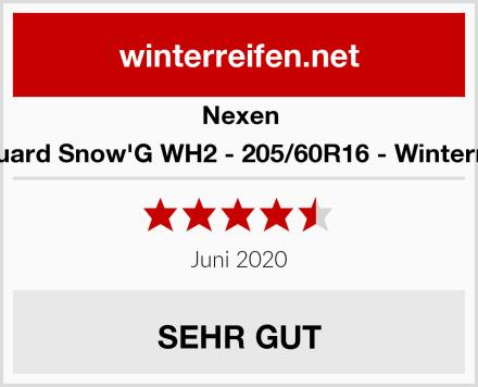 Nexen Winguard Snow'G WH2 - 205/60R16 - Winterreifen Test