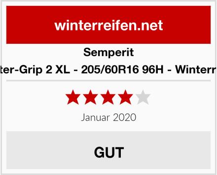 Semperit Master-Grip 2 XL - 205/60R16 96H - Winterreifen Test