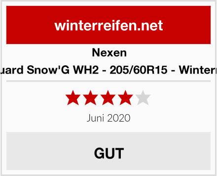 Nexen Winguard Snow'G WH2 - 205/60R15 - Winterreifen Test