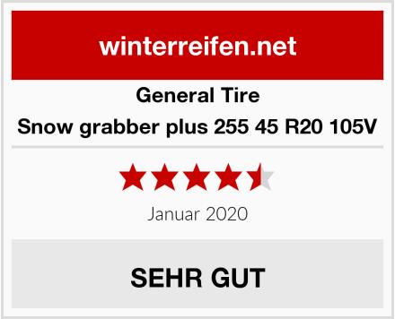 General Tire Snow grabber plus 255 45 R20 105V Test