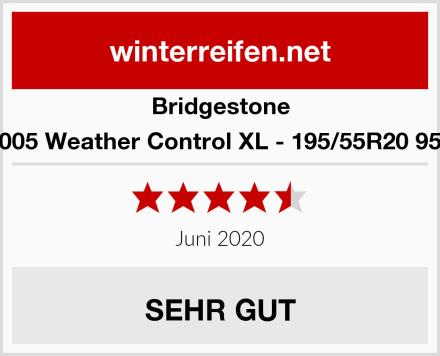 Bridgestone A005 Weather Control XL - 195/55R20 95H Test