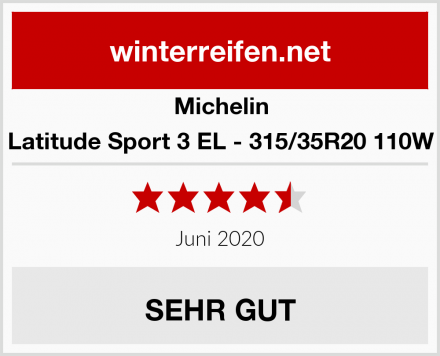 Michelin Latitude Sport 3 EL - 315/35R20 110W Test