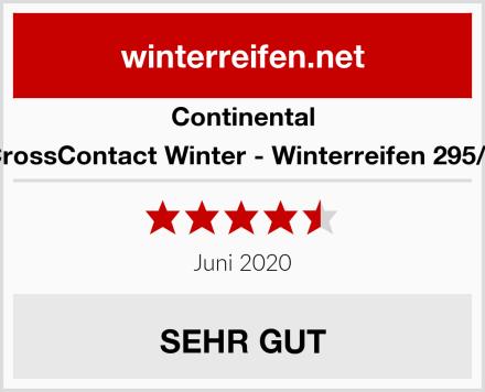 Continental ContiCrossContact Winter - Winterreifen 295/40 R20 Test