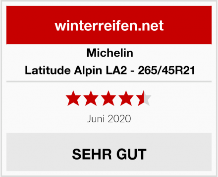 Michelin Latitude Alpin LA2 - 265/45R21 Test
