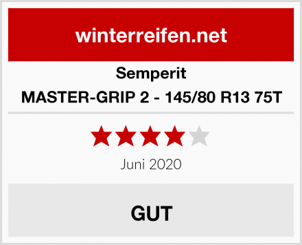 Semperit MASTER-GRIP 2 - 145/80 R13 75T Test