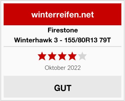 Firestone Winterhawk 3 - 155/80R13 79T Test