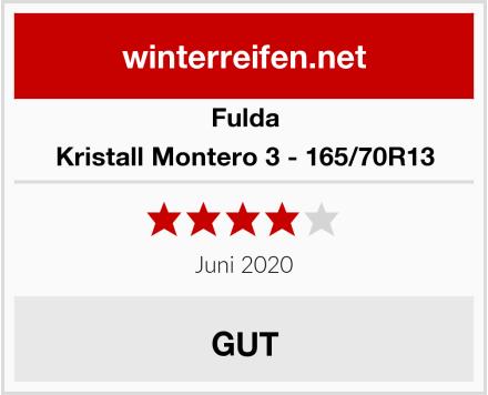 Fulda Kristall Montero 3 - 165/70R13 Test