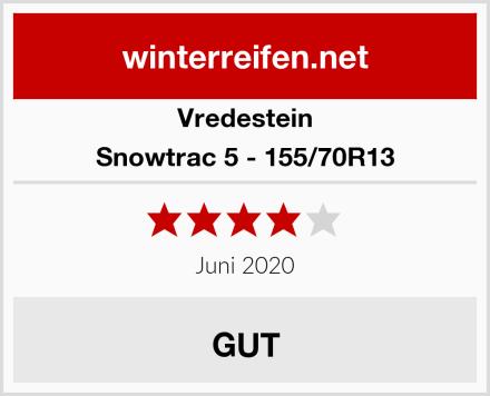 Vredestein Snowtrac 5 - 155/70R13 Test