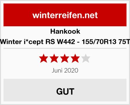 Hankook Winter i*cept RS W442 - 155/70R13 75T Test
