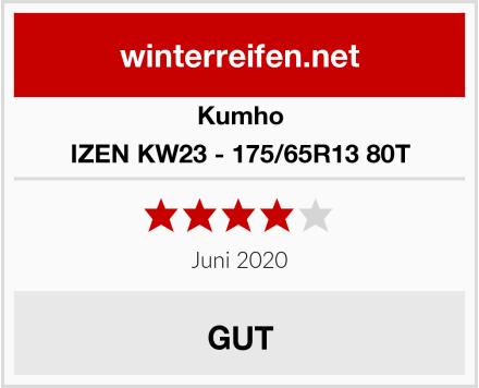 Kumho IZEN KW23 - 175/65R13 80T Test