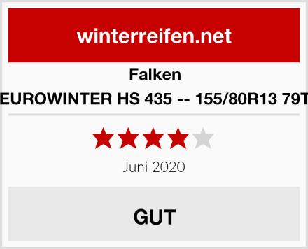 Falken EUROWINTER HS 435 -- 155/80R13 79T Test