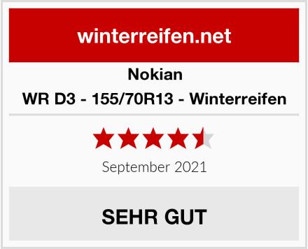 Nokian WR D3 - 155/70R13 - Winterreifen Test