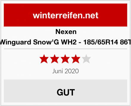 Nexen Winguard Snow'G WH2 - 185/65R14 86T Test