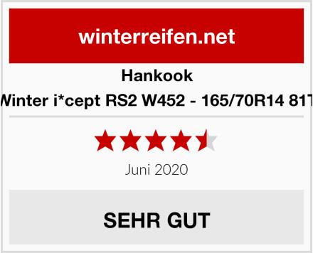 Hankook Winter i*cept RS2 W452 - 165/70R14 81T Test