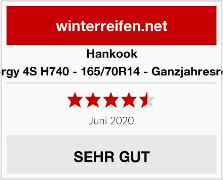 Hankook Kinergy 4S H740 - 165/70R14 - Ganzjahresreifen Test
