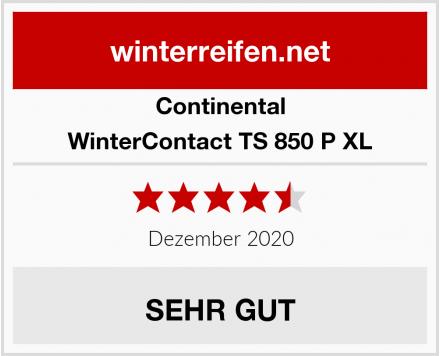 Continental WinterContact TS 850 P XL Test