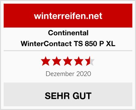 Continental WinterContact TS 850 P XL Test