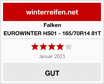 Falken EUROWINTER HS01 - 165/70R14 81T Test
