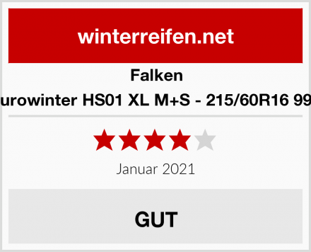 Falken Eurowinter HS01 XL M+S - 215/60R16 99H Test