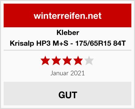 Kleber Krisalp HP3 M+S - 175/65R15 84T Test