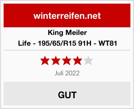 King Meiler Life - 195/65/R15 91H - WT81 Test