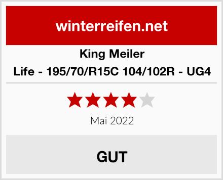 King Meiler Life - 195/70/R15C 104/102R - UG4 Test