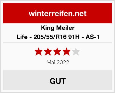 King Meiler Life - 205/55/R16 91H - AS-1 Test