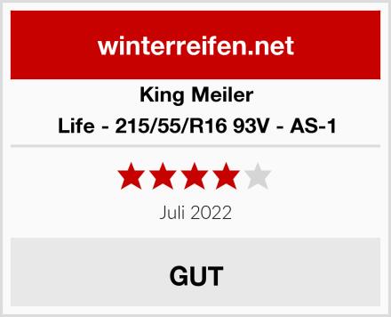 King Meiler Life - 215/55/R16 93V - AS-1 Test