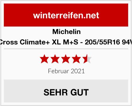 Michelin Cross Climate+ XL M+S - 205/55R16 94V Test