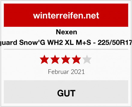 Nexen Winguard Snow'G WH2 XL M+S - 225/50R17 98V Test
