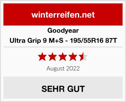 Goodyear Ultra Grip 9 M+S - 195/55R16 87T Test