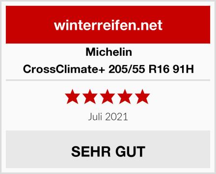 Michelin CrossClimate+ 205/55 R16 91H Test