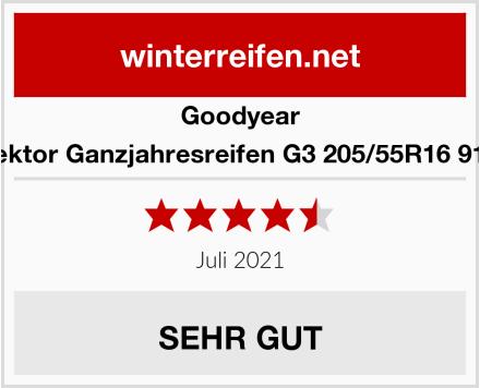 Goodyear Vektor Ganzjahresreifen G3 205/55R16 91V Test