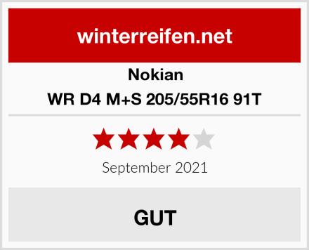 Nokian WR D4 M+S 205/55R16 91T Test
