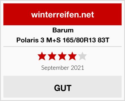 Barum Polaris 3 M+S 165/80R13 83T Test
