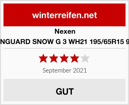 Nexen WINGUARD SNOW G 3 WH21 195/65R15 91T Test