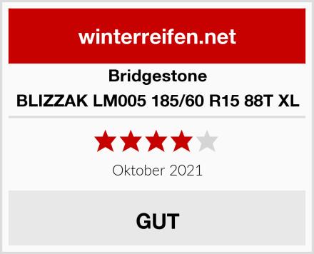 Bridgestone BLIZZAK LM005 185/60 R15 88T XL Test