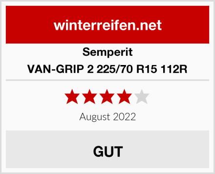 Semperit VAN-GRIP 2 225/70 R15 112R Test