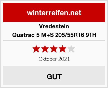 Vredestein Quatrac 5 M+S 205/55R16 91H Test