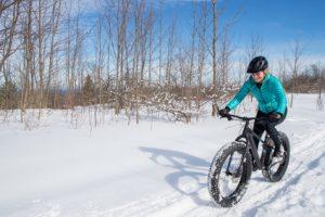 Mit dem Fahrrad im Winter fahren - so geht's