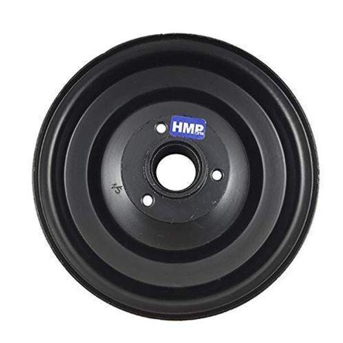 HMParts Stahl Felge 6 Zoll schwarz