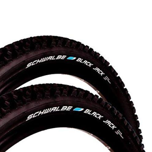 "Schwalbe Black Jack Fahrrad Reifen 26"""