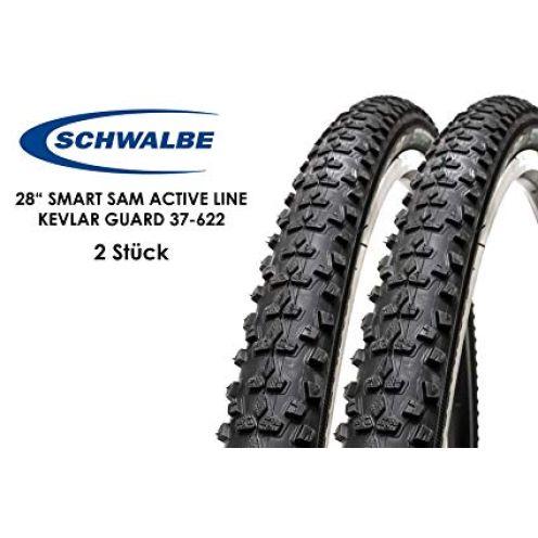 Schwalbe Smart Sam Fahrrad Reifen 28x.1.4 Kevlar Guard 37-622