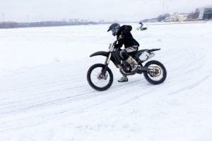 Gibt es Winterreifen für das Motorrad?